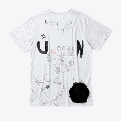 Rat Wing Tee Standard T-Shirt Back