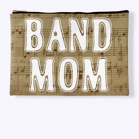 Band Mom Outline   Score Collection Standard T-Shirt Front