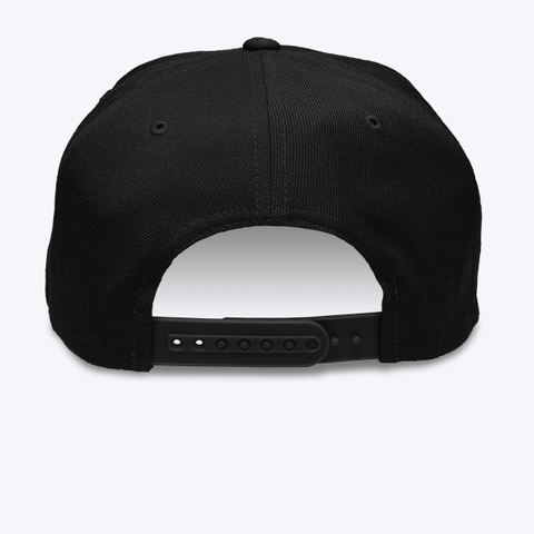 Unk Hat (Pick A Color) Black T-Shirt Back