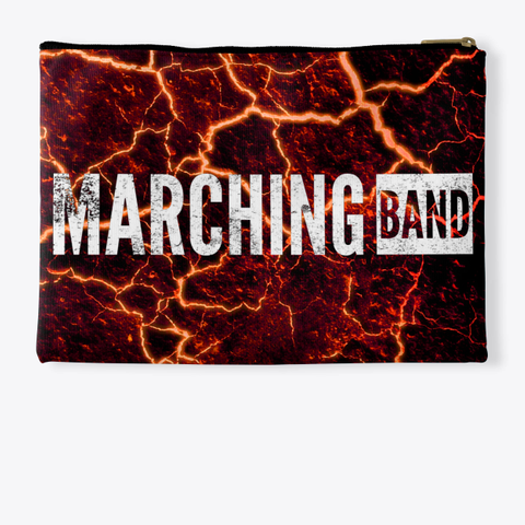 Marching Band   Lava Collection Standard T-Shirt Back