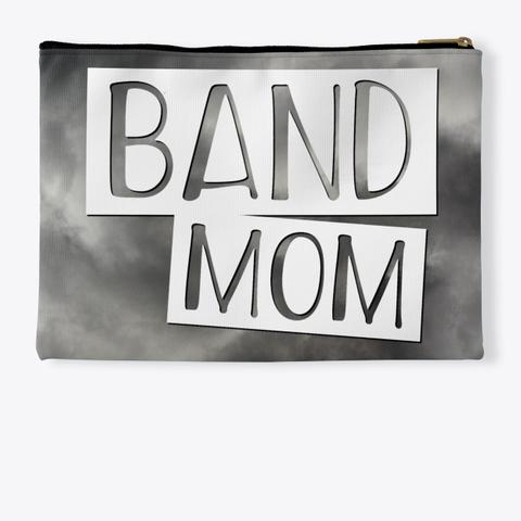 Band Mom   Black Cloud Collection Standard T-Shirt Back