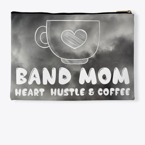 Band Mom Hustle   Black Cloud Collection Standard T-Shirt Back