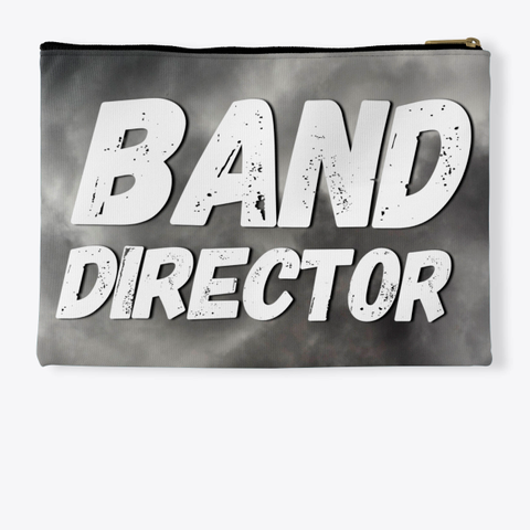 Band Director   Black Cloud Collection Standard T-Shirt Back