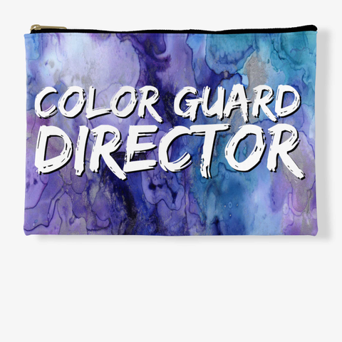 Color Guard Director   Purple Collection Standard T-Shirt Front