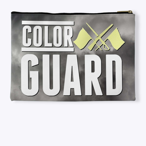 Color Guard   Black Cloud Collection Standard T-Shirt Back