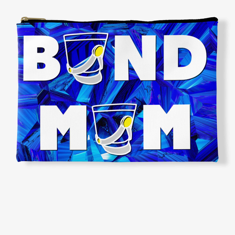 Band Mom Shako   Blue Crystal Collection Standard T-Shirt Front