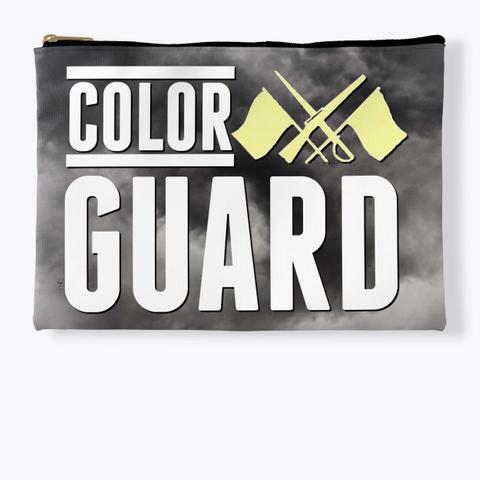 Color Guard   Black Cloud Collection Standard T-Shirt Front