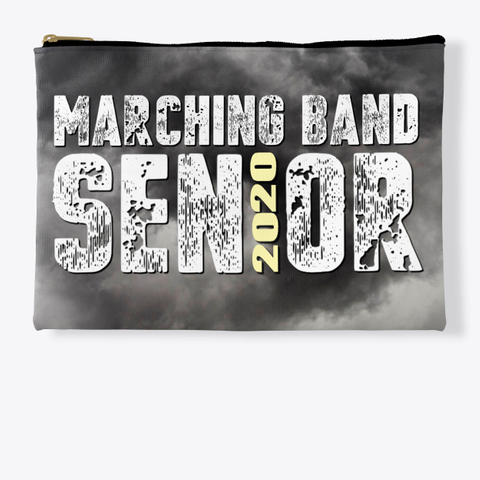 Marching Band Class Of 2020 Black Cloud  Standard T-Shirt Front