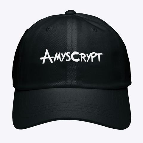 Amyscrypt Black T-Shirt Front
