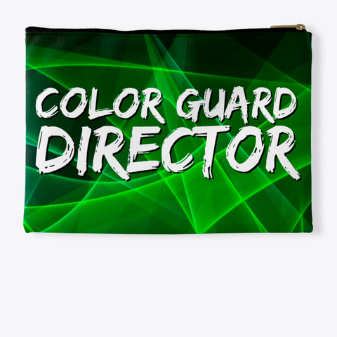 Color Guard Director   Green Collection Standard T-Shirt Back