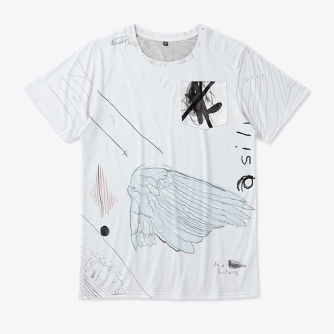 Rat Wing Tee Standard T-Shirt Front