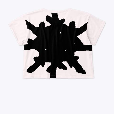 Ua Crop Top Standard T-Shirt Back