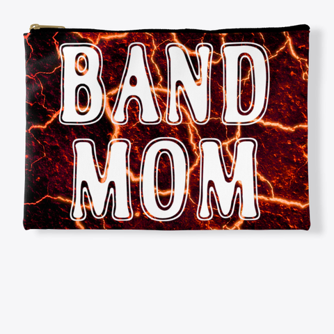 Band Mom Outline   Lava Collection Standard T-Shirt Front