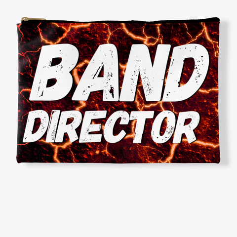 Band Director   Lava Collection Standard T-Shirt Front