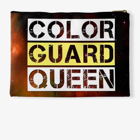 Color Guard Queen (Block)   Universe Collection Standard T-Shirt Back