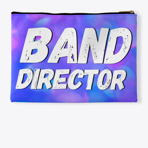 Band Director   Blue Pink Collection Standard T-Shirt Back