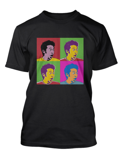 Dtg 12345 See Teespring Production Dept For Art Do Not Print This File Black T-Shirt Front