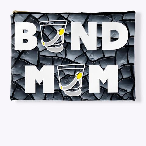 Band Mom(Shako) Black Crackle Collection Standard T-Shirt Front