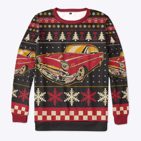 Classic 57 Ugly Christmas Standard T-Shirt Front