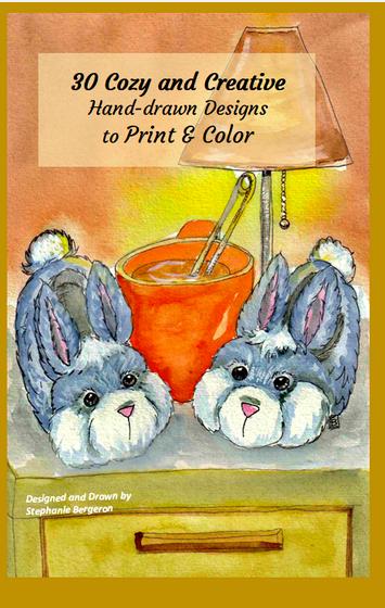 30 Cozy & Creative Designs Print & Color  T-Shirt Front