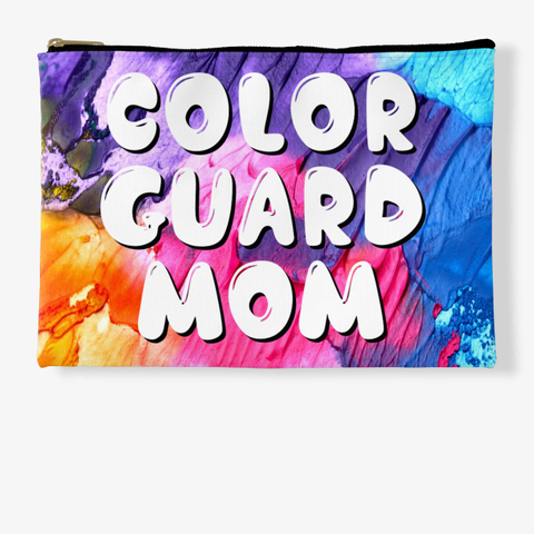 Color Guard Mom   Rainbow Collection Standard T-Shirt Front