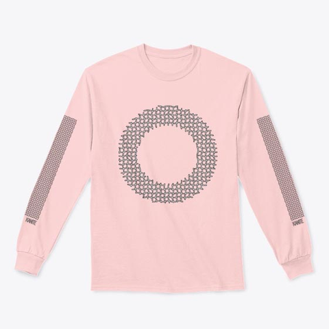 O Light Pink T-Shirt Front