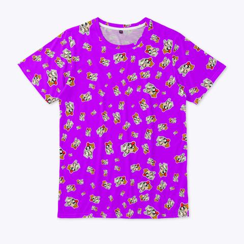 🏁 Patrón De Logos   Calidad ⭐⭐⭐⭐⭐ Standard Camiseta Front