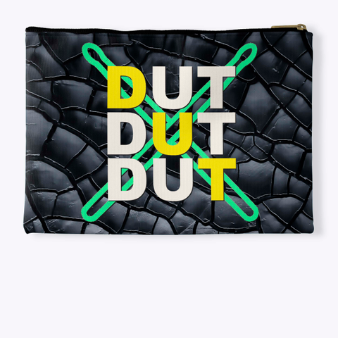 Dut Dut Dut   Black Crackle Collection Standard T-Shirt Back