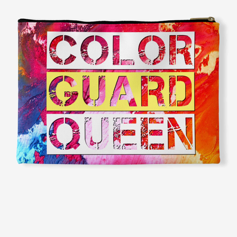 Color Guard Queen   Rainbow Collection Standard T-Shirt Back
