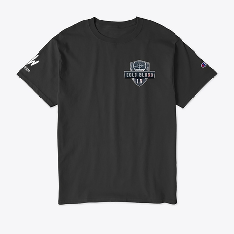 Cold Blood Champion Tee Black T-Shirt Front