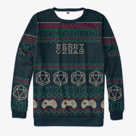 Merry Oxmas Standard T-Shirt Front