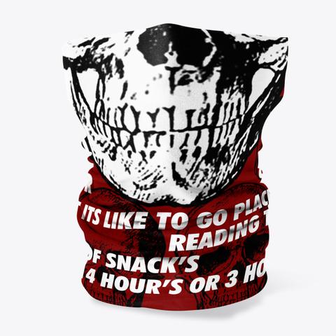 Skull Problem's Mask Standard T-Shirt Front