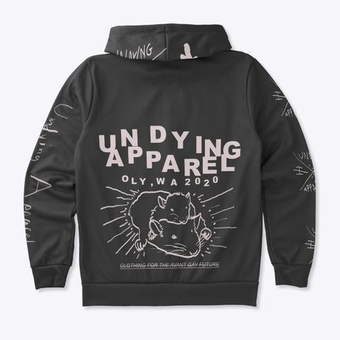 Avant Gay Future Zip Hoodie Dark Standard T-Shirt Back