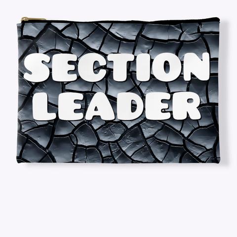 Section Leader Black Crackle Collection Standard T-Shirt Front