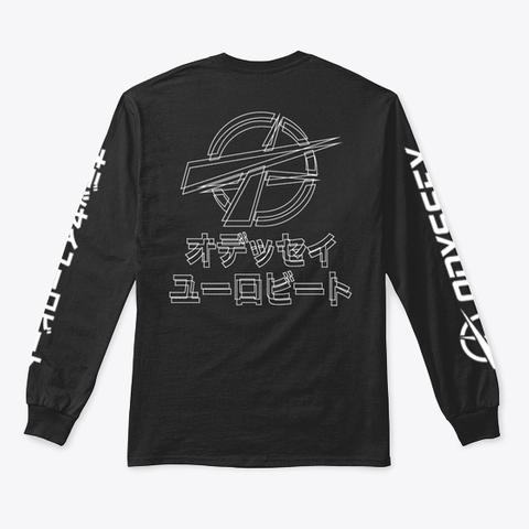 Future Design Black T-Shirt Back