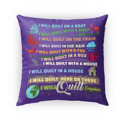 Quilting Pillow Standard T-Shirt Front
