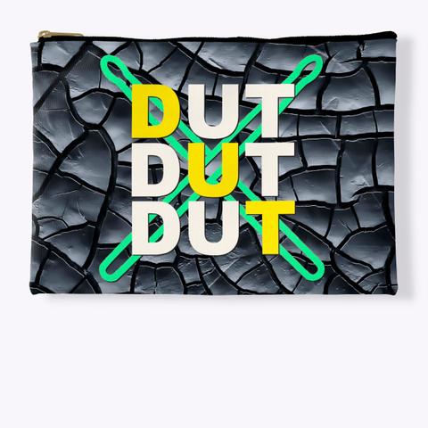 Dut Dut Dut   Black Crackle Collection Standard T-Shirt Front