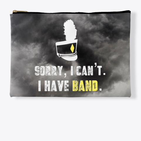 Sorry, I Can't   Black Cloud Collection Standard T-Shirt Front