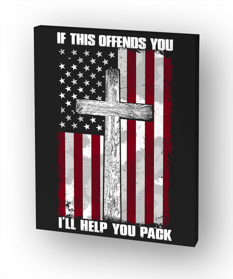 If This Offends You I'll Help You Pack White T-Shirt Front