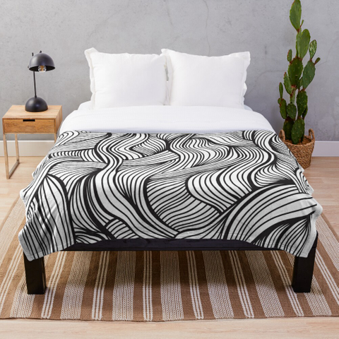 Geometric Lines Pattern For Home Decore   T-Shirt Back