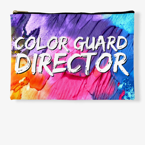 Color Guard Director Rainbow Collection Standard T-Shirt Front