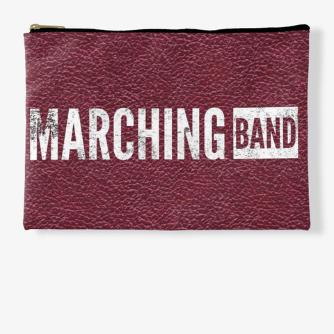 Marching Band   Maroon Collection Standard T-Shirt Front