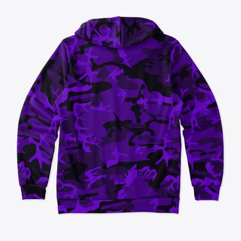 Bass Savage Real Purple Camo Hoodie! Standard T-Shirt Back