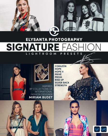 Elysanta Photography Preset Collection  T-Shirt Back