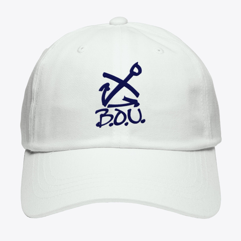B.O.U. White T-Shirt Front