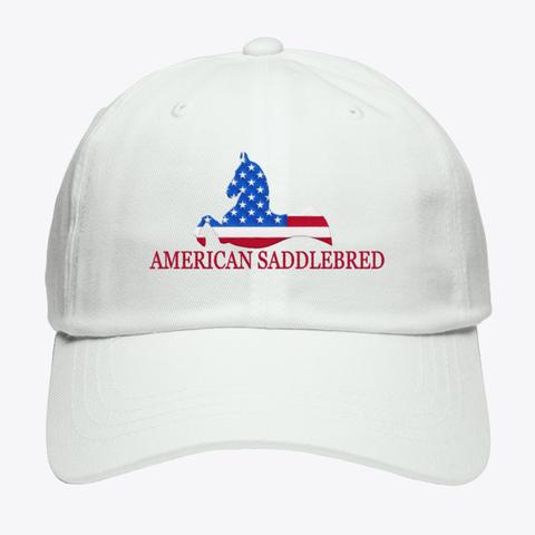 American Saddlebred White T-Shirt Front