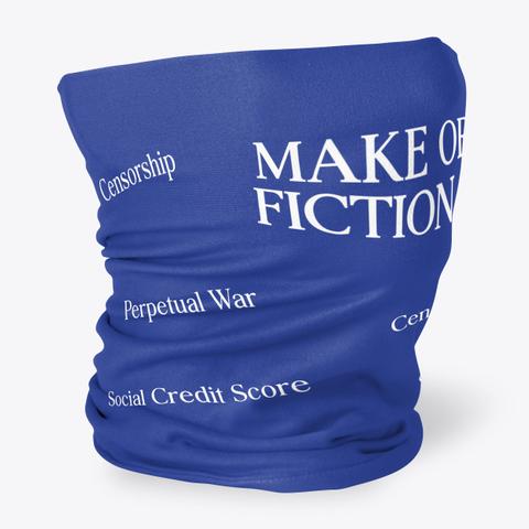 Censorship Make Of Fiction Perpetual War Cen Social Credit Score Standard T-Shirt Back