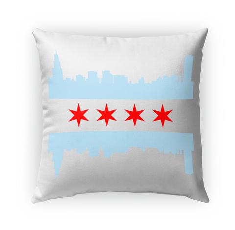 Chicago Flag Skyline Standard T-Shirt Front