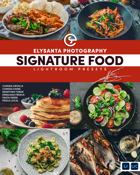 Elysanta Signature Food Lightroom Preset  T-Shirt Front