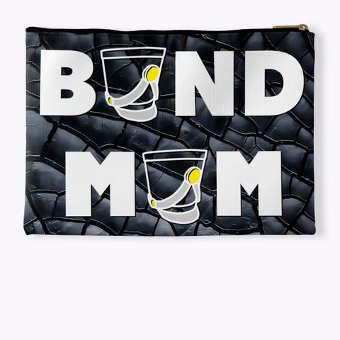 Band Mom(Shako) Black Crackle Collection Standard T-Shirt Back